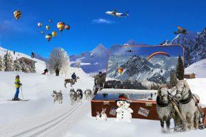 Noël à la station les Deux Alpes